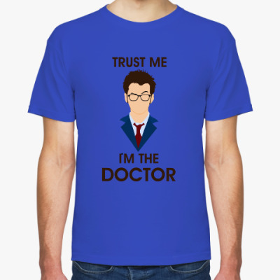 Футболка im the doctor
