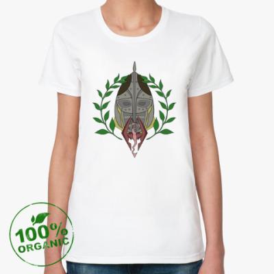 Женская футболка из органик-хлопка The Elder Scrolls V: Skyrim