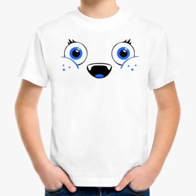 Детская футболка мордочка