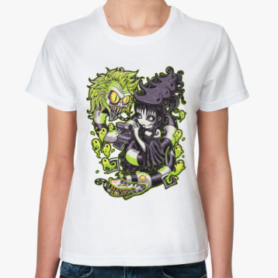 Классическая футболка Битлджус