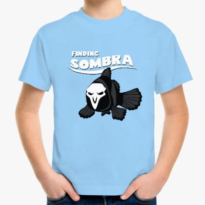 Детская футболка Сомбра Overwatch Reaper