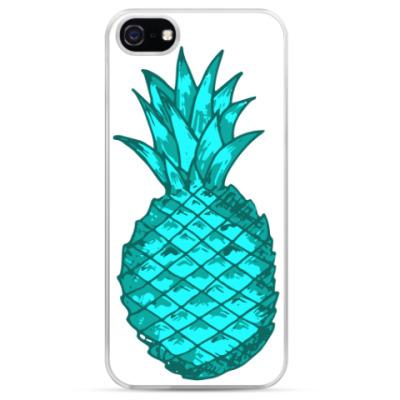 Чехол для iPhone Зеленый ананас