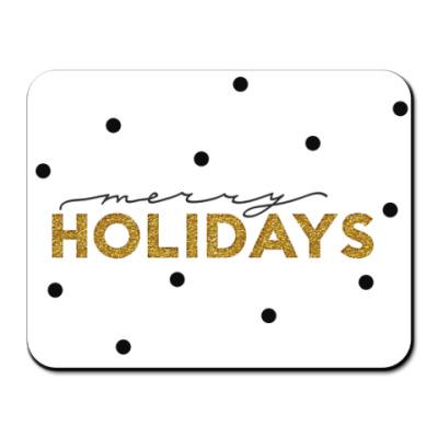 Коврик для мыши Merry holidays