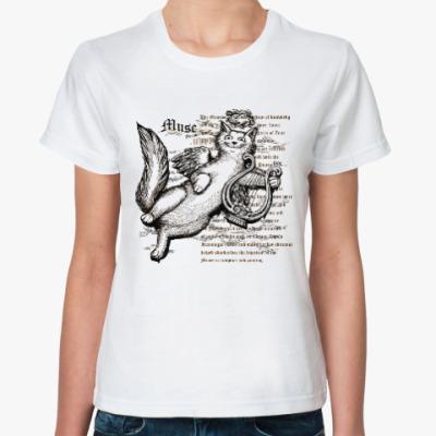 Классическая футболка Муза