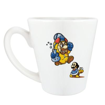 Чашка Латте Mario Heisenberg