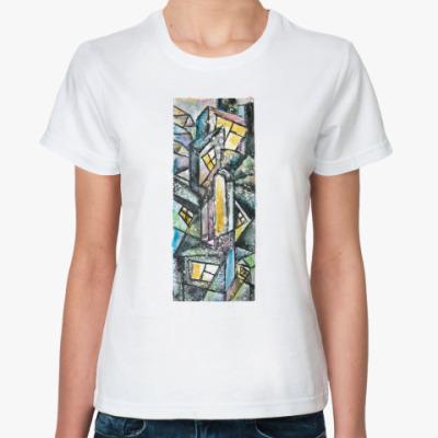 Классическая футболка  'Город'