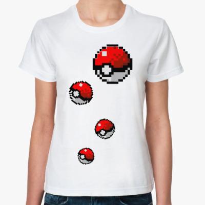 Классическая футболка Покебол
