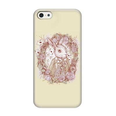 Чехол для iPhone 5/5s Белый Кролик