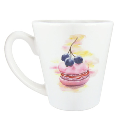 Чашка Латте Французский макарон