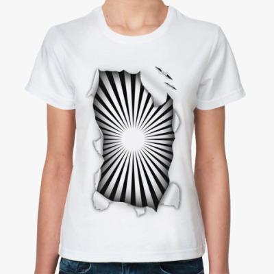 Классическая футболка Гипноз