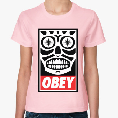 Женская футболка Obey Mexico