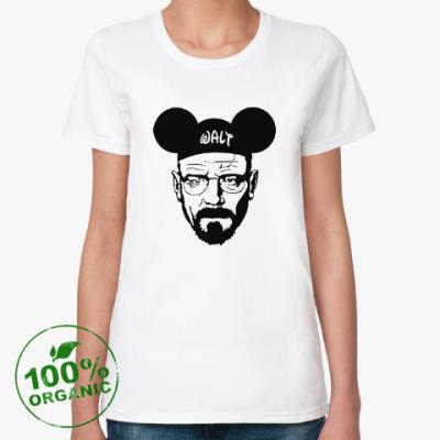 Женская футболка из органик-хлопка walter white