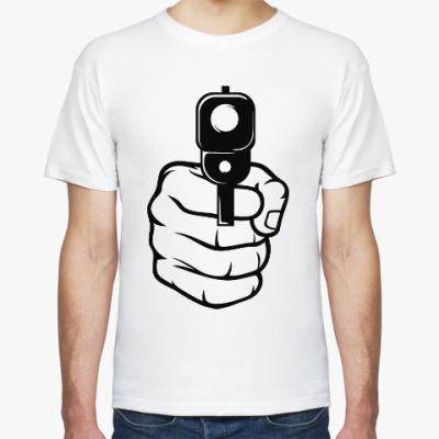 Футболка Пистолет в руке