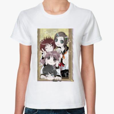 Классическая футболка   'Школьницы'