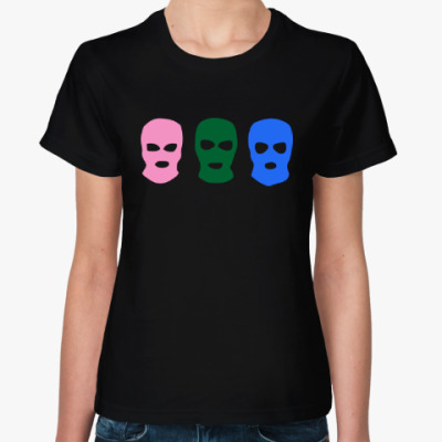 Женская футболка Pussy Riot