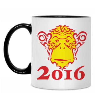 Кружка Год обезьяны 2016