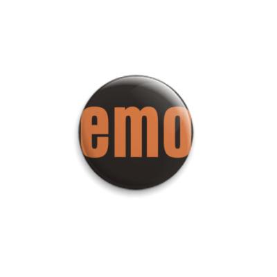 Значок 25мм EMO