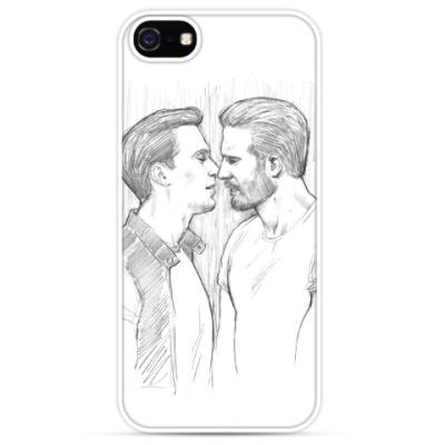 Чехол для iPhone Chris Evans / Sebastian Stan