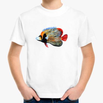 Детская футболка рыбный день