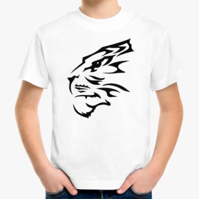 Детская футболка Тигр узор