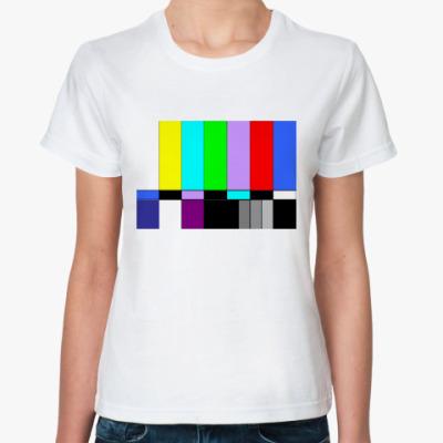 Классическая футболка TV Color Bars