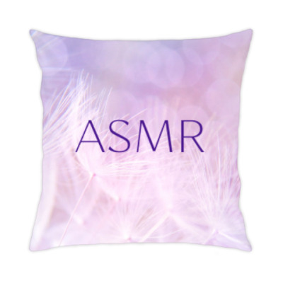 Подушка Нежная цветочная АСМР
