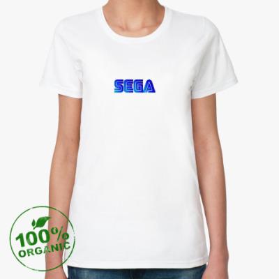 Женская футболка из органик-хлопка SEGA