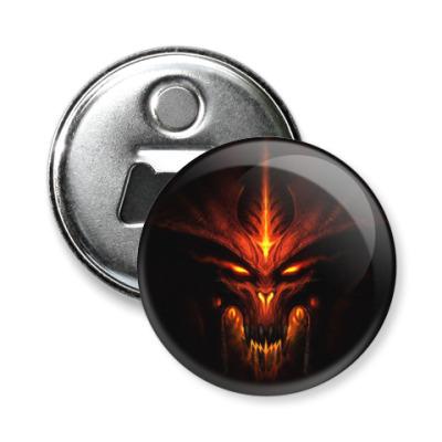 Магнит-открывашка Демон