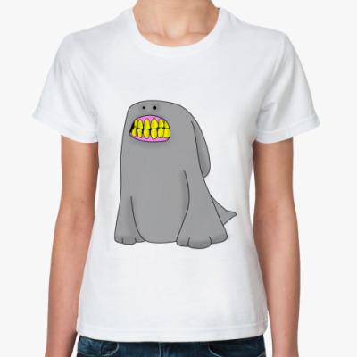 Классическая футболка зубан