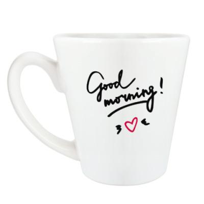 Чашка Латте Good morning/Доброе утро