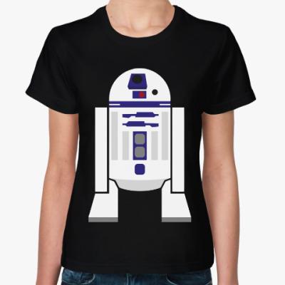 Женская футболка Р2-Д2 (Звездные Войны)