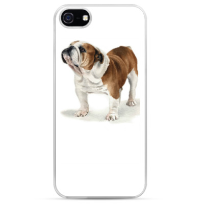 Чехол для iPhone Бульдог