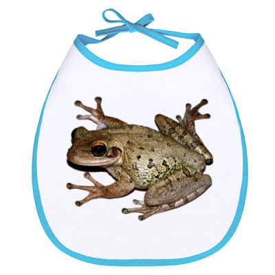 Слюнявчик Лягушка