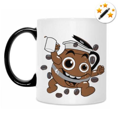 Кружка-хамелеон Кофеман (Coffee)