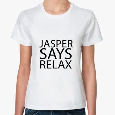 Классическая футболка Jasper says
