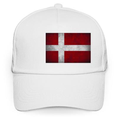 Кепка бейсболка 'Датский флаг'