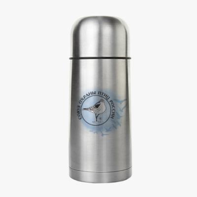 Термос Союз охраны птиц России (логотип)