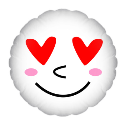 Подушка Я тебя люблю