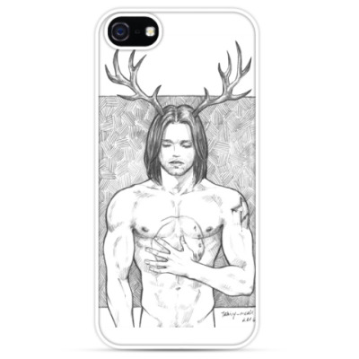 Чехол для iPhone Bucky Barnes as Will Graham