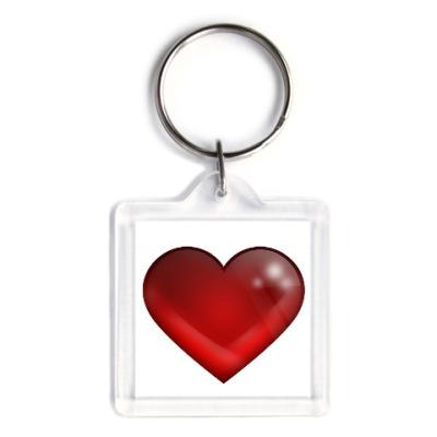 Брелок Большое сердце
