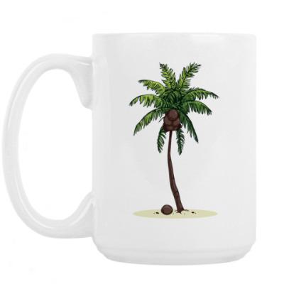 Кружка Кокосовая пальма