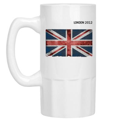 Пивная кружка 'LONDON 2012'