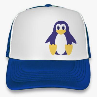 Кепка-тракер Мультяшный пингвин