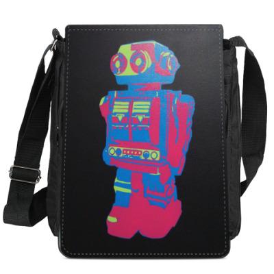 Сумка-планшет Fan of robot