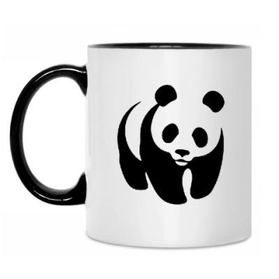 Кружка WWF. Панда