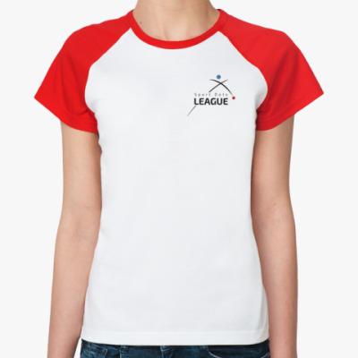 Женская футболка реглан Лига Спортивных Точек