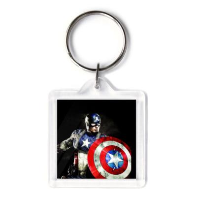 Брелок  'Капитан-Америка'