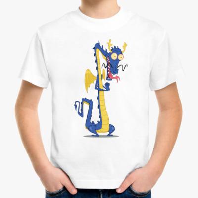 Детская футболка Восточный дракон