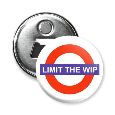 Магнит-открывашка Limit The WIP