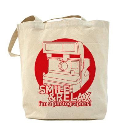 Сумка Холщовая сумка Smile & Relax